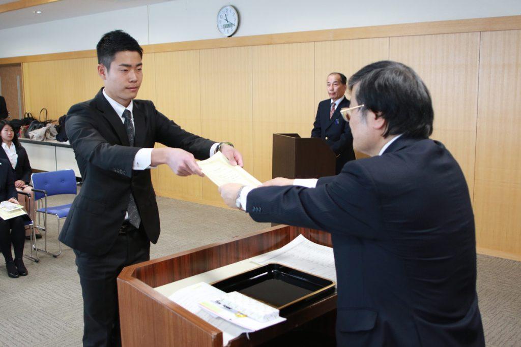 学生表彰(甲府キャンパス)