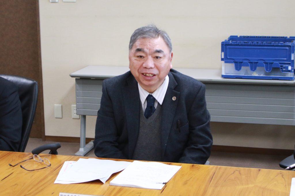 活動に期待を寄せる古井明男 同財団理事長