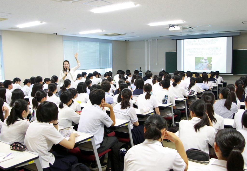 教育学部:大野歩 准教授の講義の様子