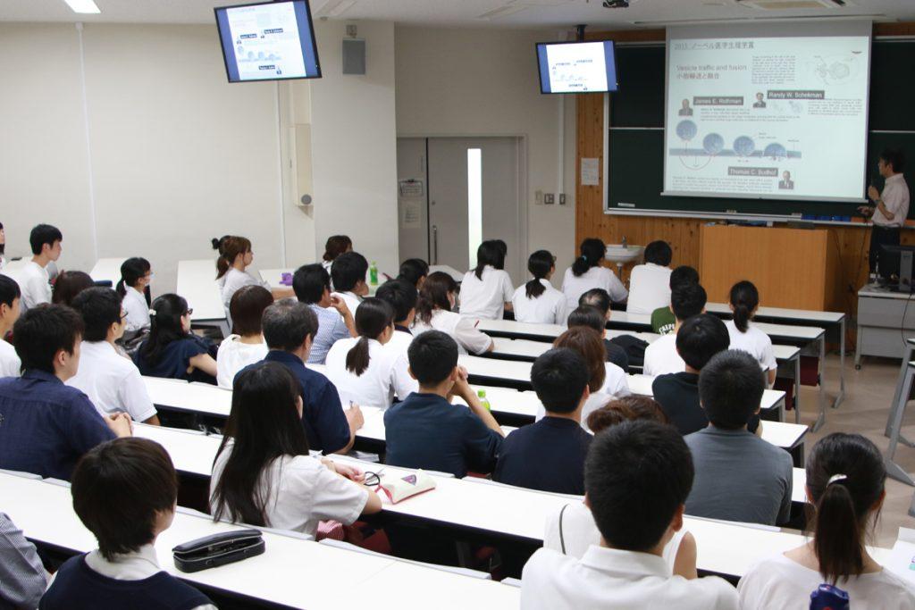 【医学部医学科】模擬授業の様子
