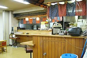 食堂「つどい」の店内の様子