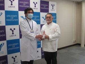 新型コロナウイルス感染症緊急対策基金への寄付金を頂戴しました